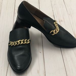 Calvin Klein Slip-on Loafers with Chain